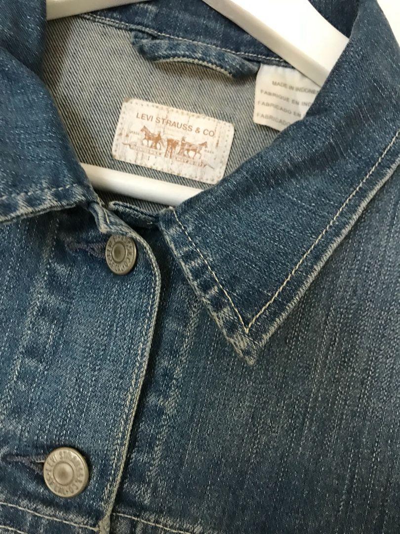 Jeansjakke blå • Tise