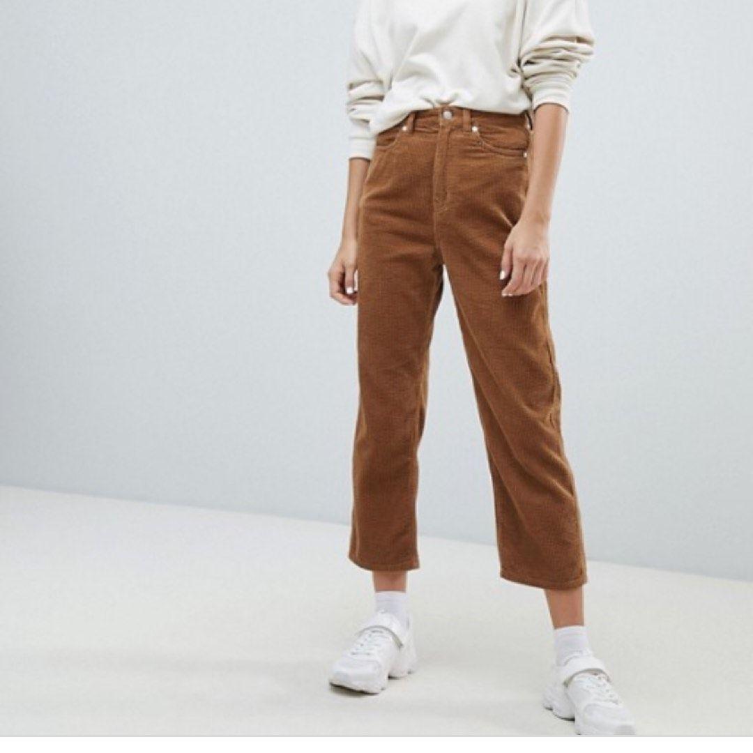 Corduroy bukser • Tise