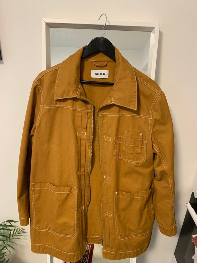 Denim jakke fra Weekday • Tise