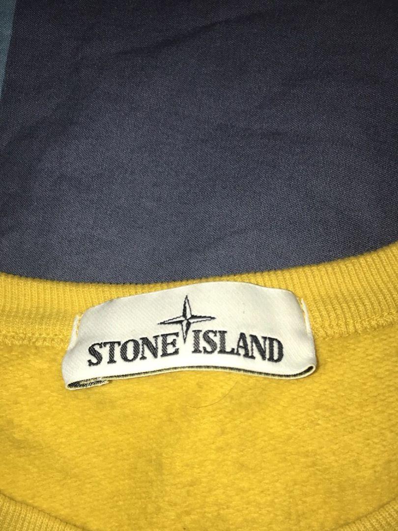 stone island genser gul