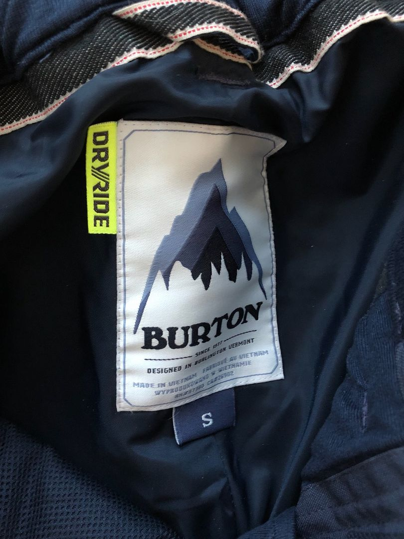 Burton snowboardbukse • Tise