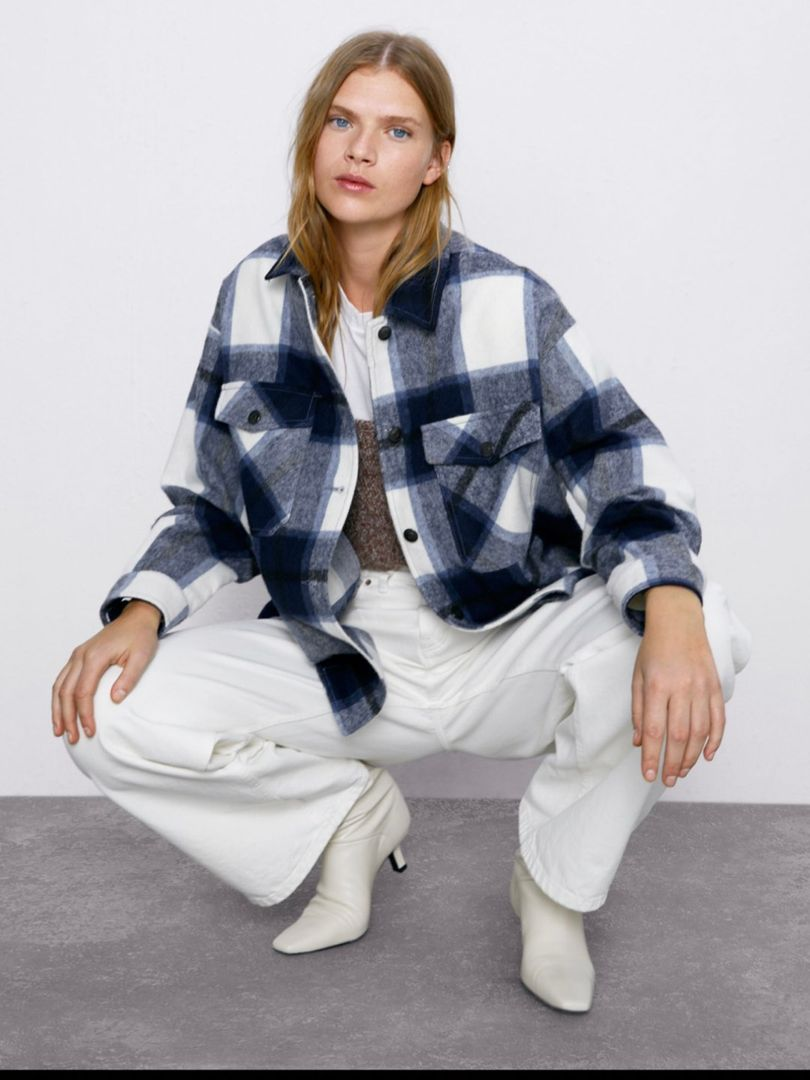 Zara skjortejakke • Tise